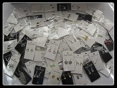 20 Pairs Of Mixed  Earrings (20 Different Pairs)~~ Buy 2 Get The 3Rd Free~~