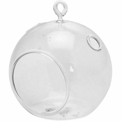 Hanging Glass Bubble Tealight Candle Holder 10 x 11 cm Wedding Home Decoration