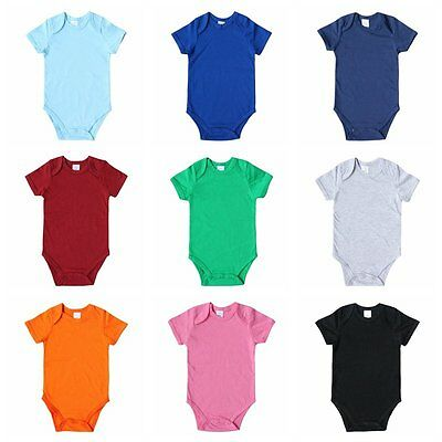 Cotton Newborn Baby Girls Boys Clothes Bodysuit Romper Jumpsuit Playsuit Outfits