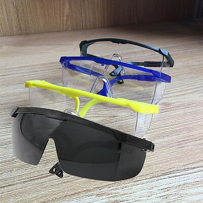 NT Vented Safety Clear Goggles Glasses Eye Protection Lab Work Anti Fog Eyewear