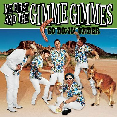 Me First And The Gimme Gimmes-Go Down Under-Vinyl 7Inch (2) Fat Wreck Neu