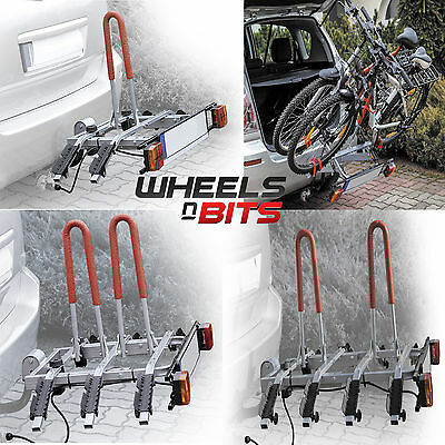 VOITURE INCLINABLE PLATEFORME 2,3,4 VÉLO SUPPORT boule d'attelage