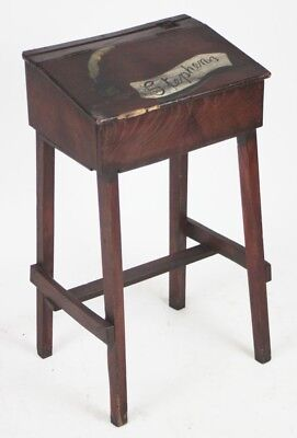 Old School Desk with Inkwell  - FREE Delivery [PL2359]