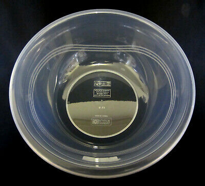 Set of 2 HOBBY LIFE 7,10, &15Lt. CLEAR PLASTIC MIXING BOWLS COOKING BAKING,SALAD