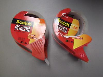 Scotch Moving and Storage Packing Tape NEW 2 Pack