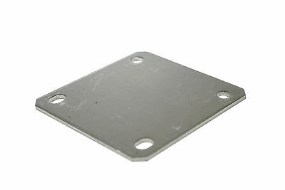 Trailer Suspension Unit Mounting Plate 4 Hole Up to 250kg for Trailers