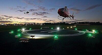 LED Heliport - airport  landing lights - Runway Lights