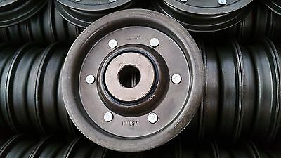 "Aetna Bearing Co. Sheave/Pulley, Idler 3.25""OD 1/2""ID, Single Section Belt, B FR"