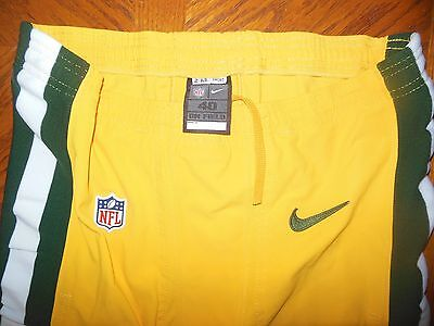 Green Bay Packers Game Used Football Pants On Field