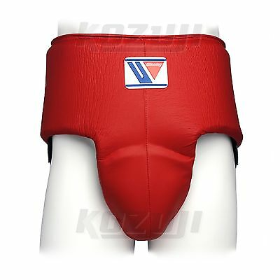 Winning Boxing Groin Protector CPH-100 Red, High Cut, New from Japan