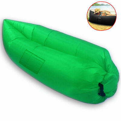 Chill Chair Portable Large Inflatable Lounge/Couch/Seat Outdoor/Camp/Beach Green