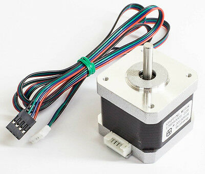 US Ship 5pc Nema 17 Stepper Motor Bipolar 59oz.in CNC/3D Printer+5pc GT2 Pulleys