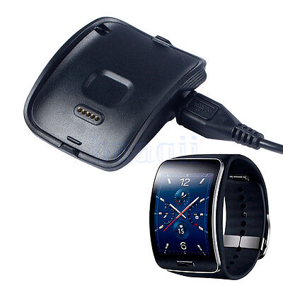Charging Cradle Dock Charger For Samsung Gear S Smart Watch SM-R750 Black MA