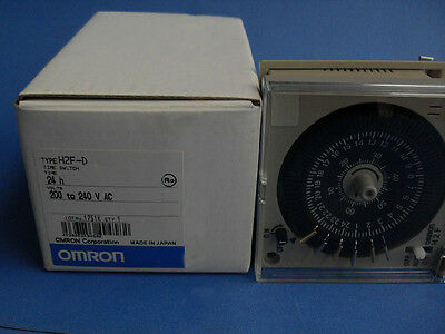 Omron Time Switch H2F-D 200-240VAC New In Box