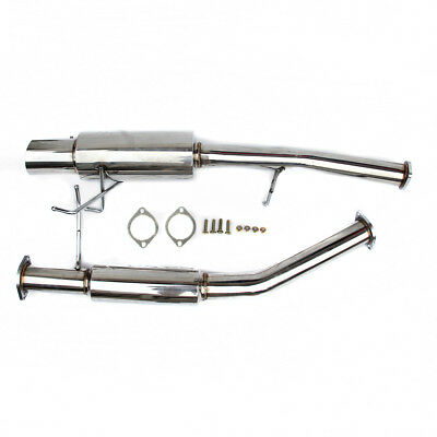 """VOLKSWAGEN GOLF MK5 GTI 2.0 FSI TURBO STAINLESS DECAT EXHAUST DOWN PIPE 3""""Bore"""