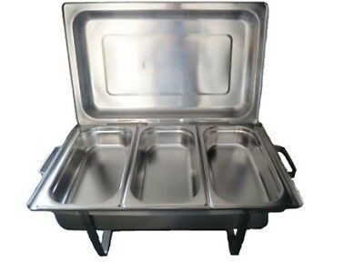 Chafing-Dish GN1/1 avec 3 Bacs GN1/3