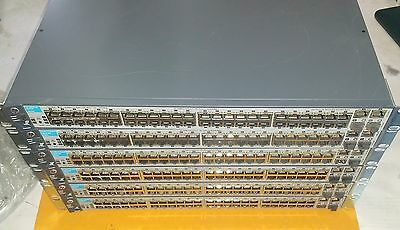 Lot of 6 HP Procurve 2510-48 48-Port Network Managed Switch
