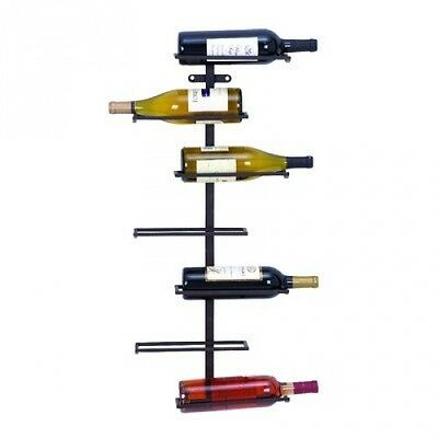 Woodland Imports 7 Bottle Wall Mounted Wine Rack. Free Delivery
