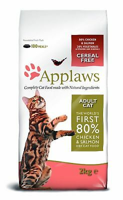 Applaws Complete Dry Cat Food With Chicken & Salmon 2KG