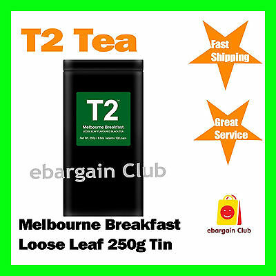 T2 Tea Melbourne Breakfast Loose Leaf 250g Tin