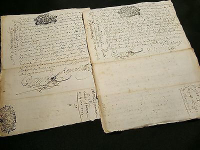 Lot Of Two Old Documents         1717
