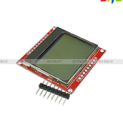 84*48 LCD Module White Backlight Adapter PCB for Nokia 5110 D
