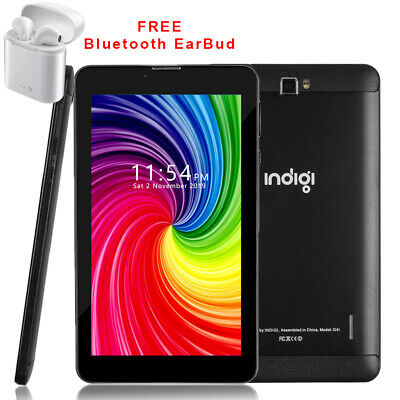 Unlocked 7.0in Android 9.0 4G Smart Phone+Tablet PC WiFi 2sim+ Bluetooth Headset