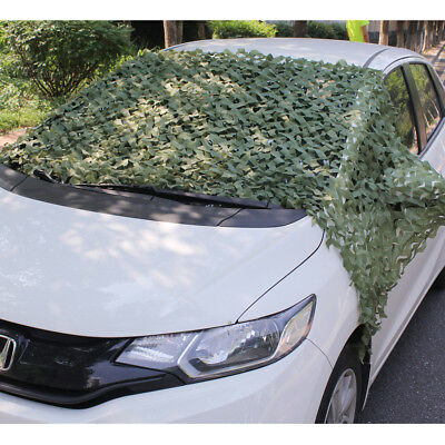 2/3/4/5M Hunting Camping Jungle Camo Green Net Camouflage Woodlands Hide Cover
