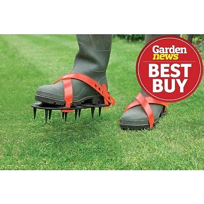 Garland Lawn Aerators Spike Shoes super tough  Strap over boots or wellingtons