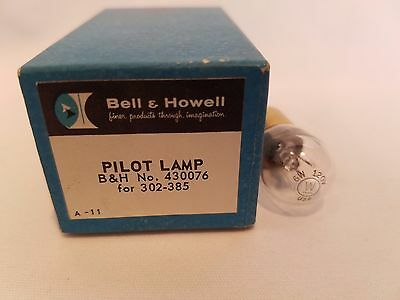 Bell & Howell 430076 Pilot Projector Lamp 6W 120V Projection Bulb for 302-385
