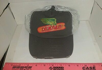 504b5d19db1 DEKALB SEED CORN CHARCOAL   GREY DISTRESSED WEATHERD MESH Logo CAP HAT  BRAND NEW