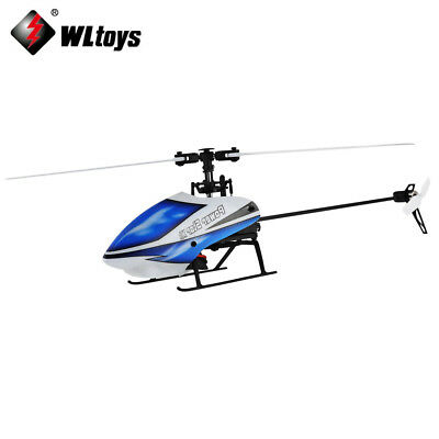 Wltoys V977 6CH RC 2.4GHz Gyroscope RC Helicopter Brushless Flybarless  Aircraft