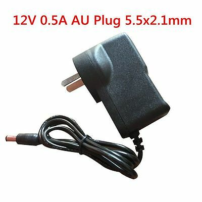 DC 12V 0.5A 500mA AC Converter Adapter Power Supply Charger AU Plug Universal