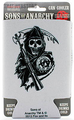 Sons of Anarchy Reaper Can Cooler Beer Koozie Soda Coozie Huggie
