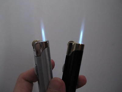 1PC Metal jet torch flame windproof lighter power flame cool gift for friend