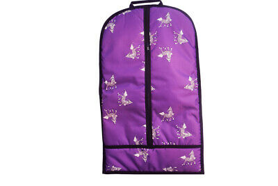 NEW STC Bambino Garment Carry Bag for horse riding travel cloths Purple FREEPOST