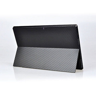 NEW Carbon Fiber Sticker Protector cover for Microsoft Surface Pro Tablet HOT