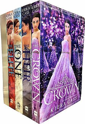 The Selection Series Collection Kiera Cass 5 Books Set Elite Heir Crown One