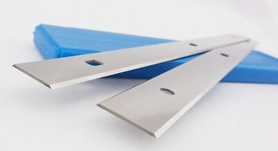 Record Power PT260 260mm Double Edged Disposable HSS Planer Blades 1Pair