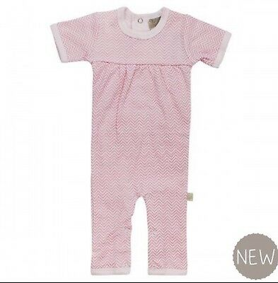 *NEW* MIZZLE Baby Girls Romper Pink Chevron