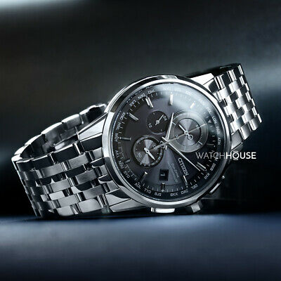 Citizen Elegant AT8110-61E 4 Zonen Funkuhr Eco Drive/Solar Herren Chronograph