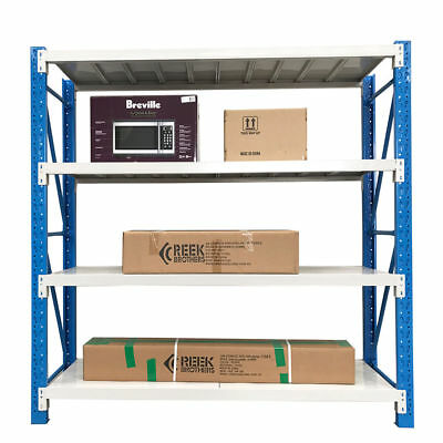 2Mx2.4M Metal Garage Warehouse Storage Shelves Shelf Racking Steel Rack Shelving