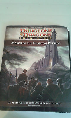 Dungeons and Dragons Encounters March of the Phantom Brigade Campaign