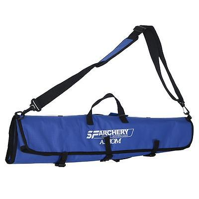Archery Traditional Recurve Bow Bag Hunting Shooting Portable Carry Case Blue