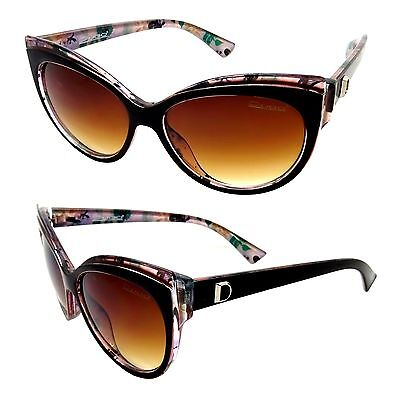 8b5cd277e41 Lunettes Soleil Femme Papillon Xxl Noir Marron Liberty Christian Diamants  Masque