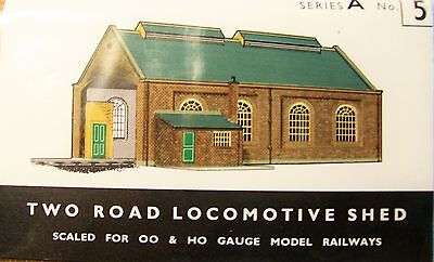 Sq5   Superquick Two Road Locomotive Shed   A5    Kit