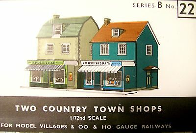 Sq22  Superquick   Two Country Town Shops   B22   Kit