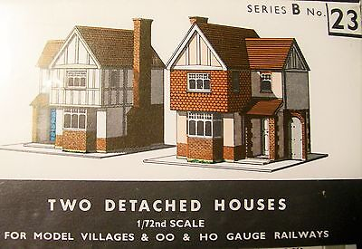 Sq23   Superquick Two Detached Houses   B23   Kit