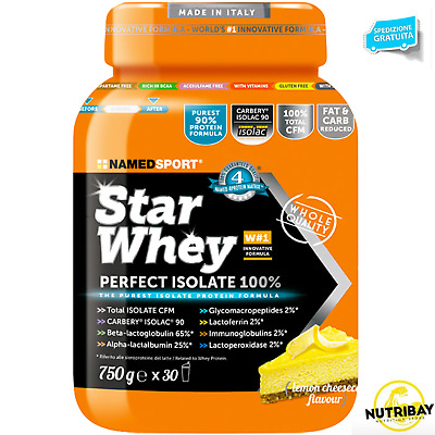 Named Star Whey 750 Proteine Siero Del Latte Isolate 90% + 100% Creatina Scitec