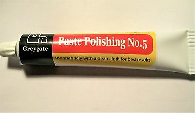 GREYGATE BAKELITE POLISH, PASTE POLISHING No5, 60g TUBE